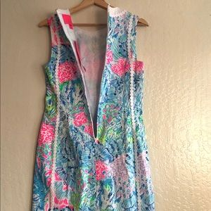 Lilly Pulitzer Dresses - Lilly Pulitzer Mila Stretch Shift Dress size 2